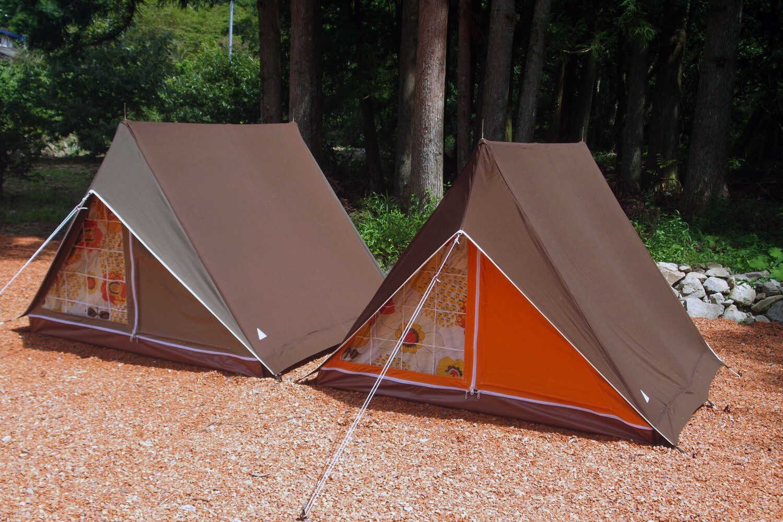 パジャマムーンオリジナル リトルウイング3 A型テント ヴィンテージテント<フロマージュ>