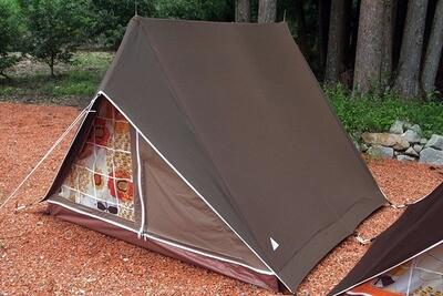 パジャマムーンオリジナル リトルウイング3 A型テント ヴィンテージテント <ショコラ>