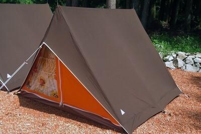 パジャマムーンオリジナル リトルウイング3 A型テント ヴィンテージテント <フロマージュ>