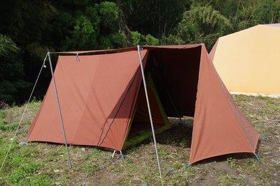スクータリスト フルコットン ヴィンテージ幕  A型テント HAWLEY NOMAD 3