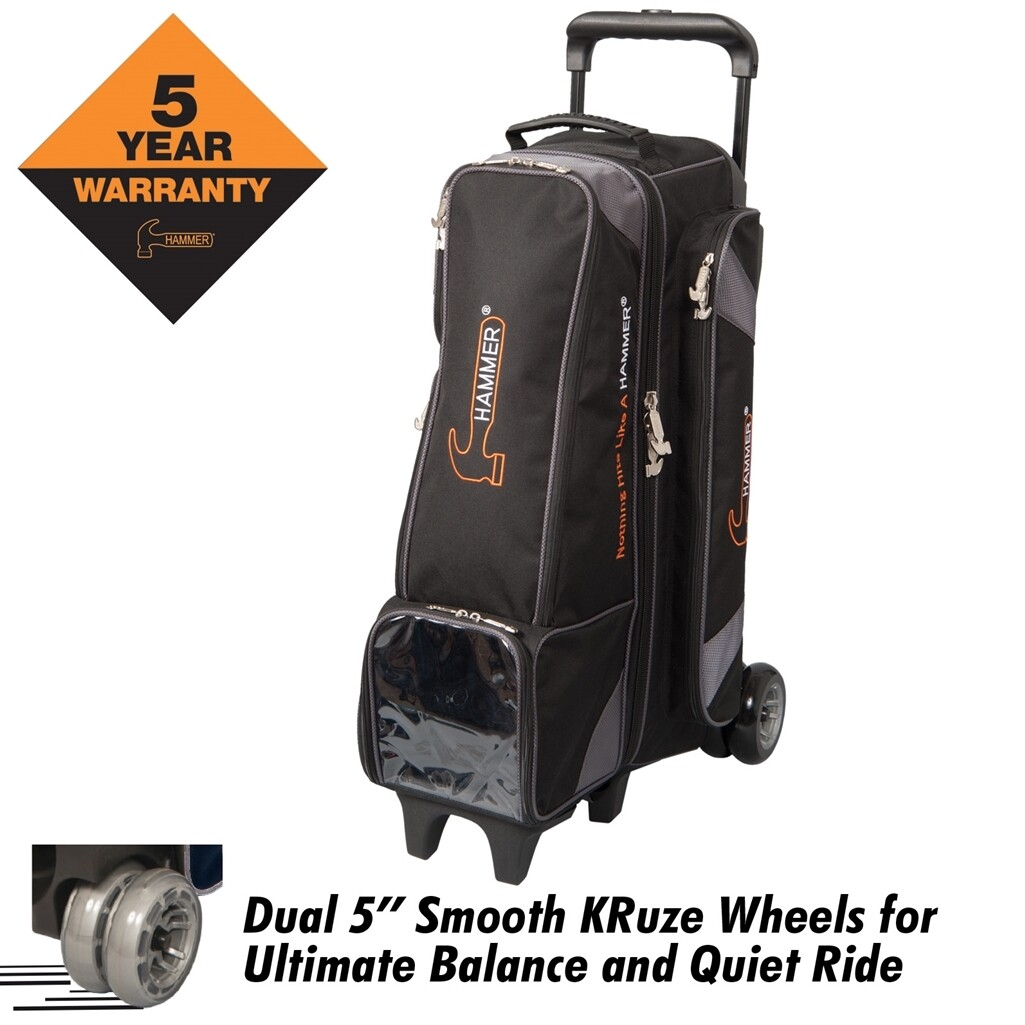 Hammer Diesel 4x4 Inline 4 Ball Roller Bowling Bag