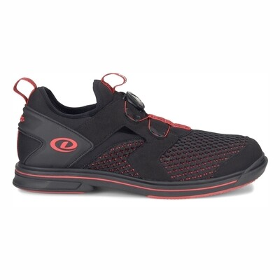 Dexter Pro BOA Black/Red Right Handed Mens Bowling Shoes