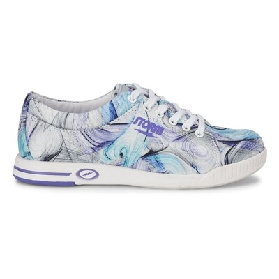 Storm Meadow White/Purple/Multi Womens Bowling Shoes