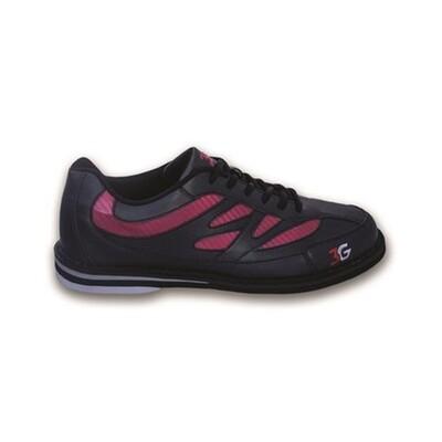 3G Cruze Black/Red Mens Bowling Shoes