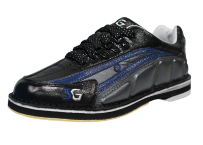 3G Tour Ultra Black/Blue Mens  Bowling Shoes