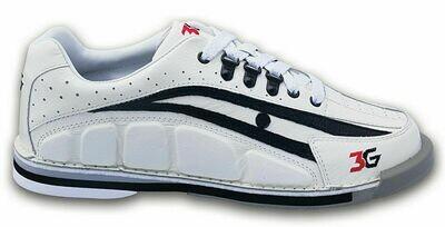 3G Tour Ultra White/Black Mens  Bowling Shoes