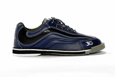 3G Sport Ultra Black/Blue Mens Bowling Shoes