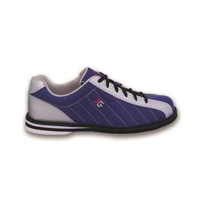 3G Kicks Navy/Silver Mens Bowling Shoes