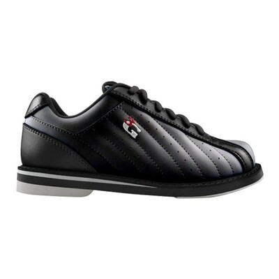 3G Kicks Black Mens Bowling Shoes