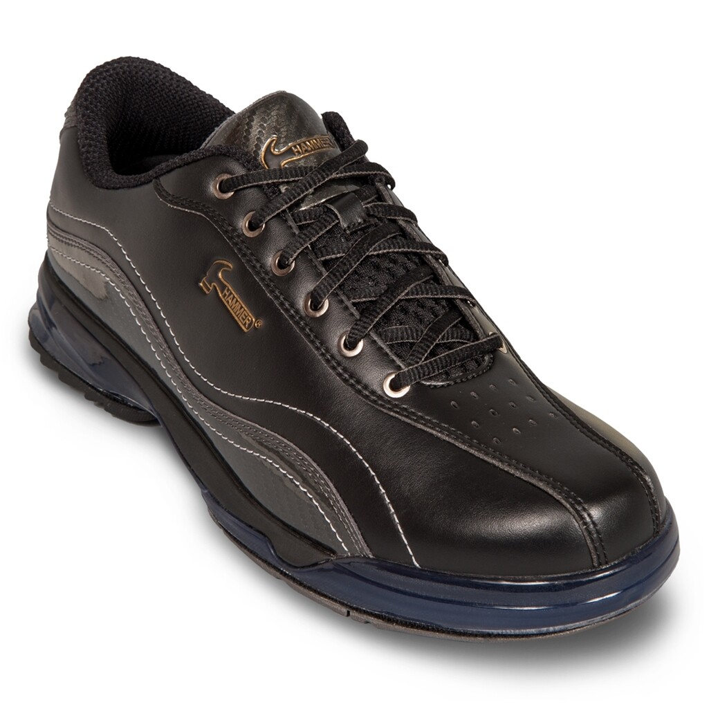 Hammer Force Black/Carbon Mens Right Handed Bowling Shoes