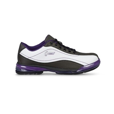Hammer Lady Force White/Black/Purple Right Handed Womens Bowling Shoes