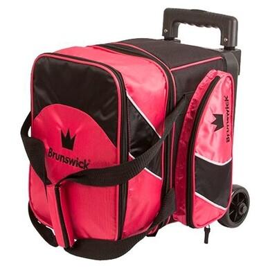 Brunswick Edge 1 Ball Roller Black/Pink Bowling Bag
