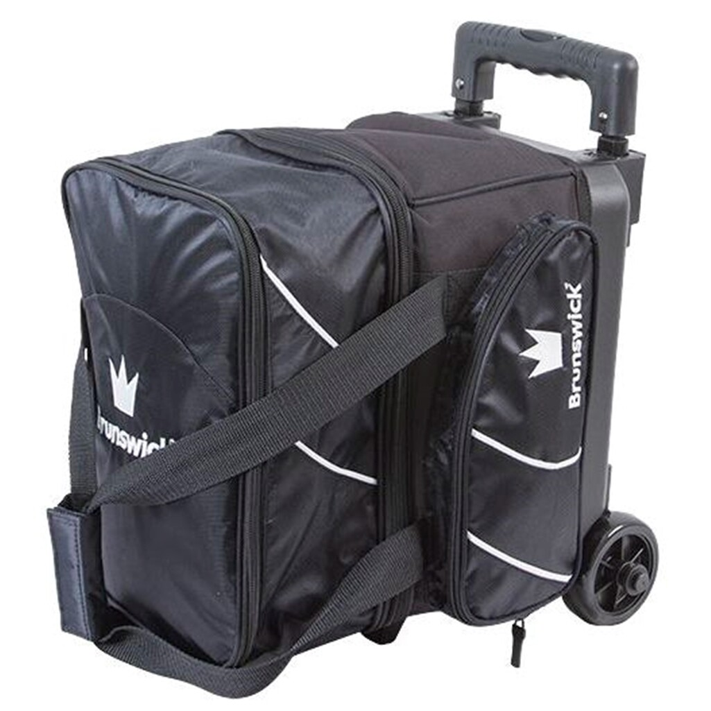 Brunswick Edge 1 Ball Roller Black Bowling Bag