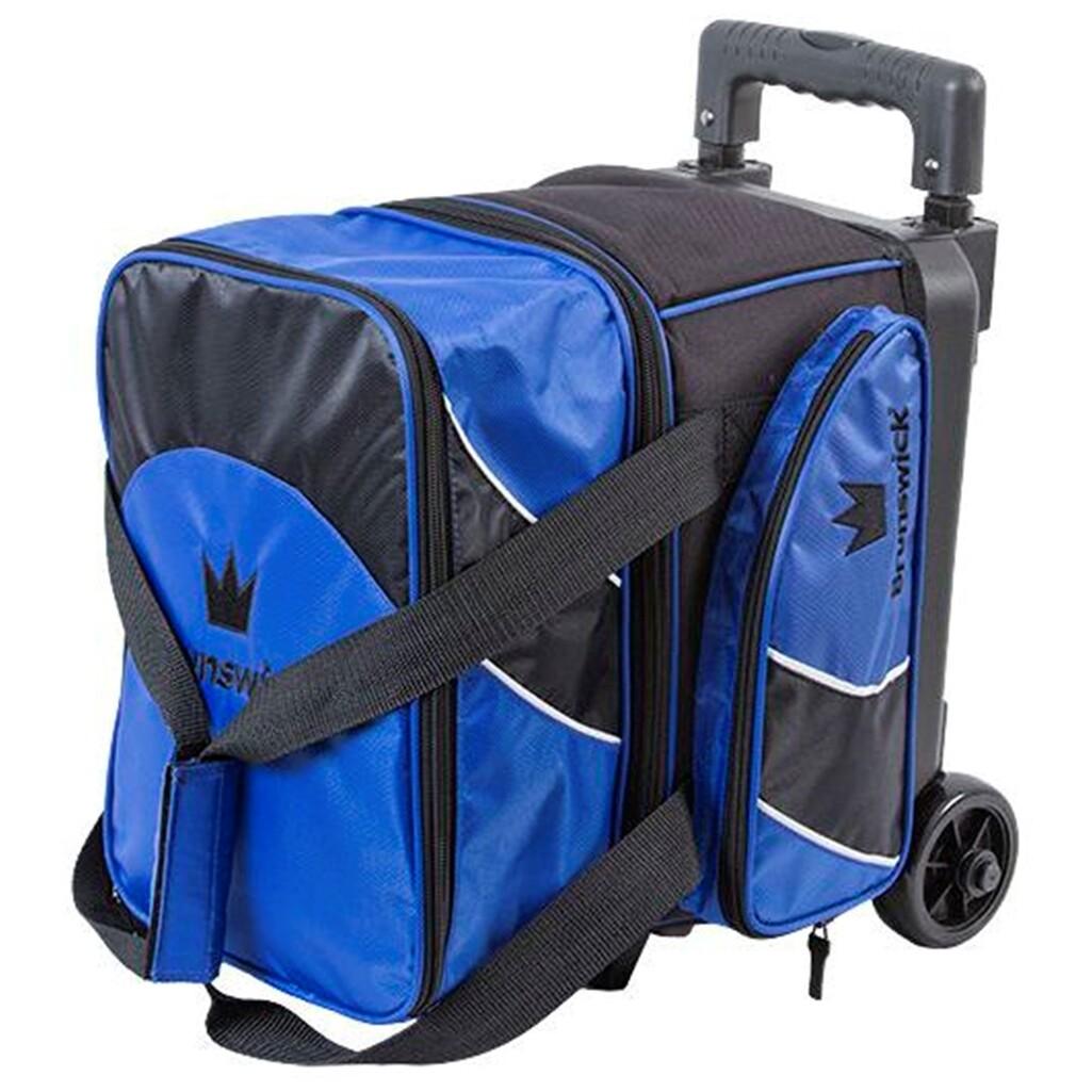 Brunswick Edge 1 Ball Roller Black/Blue Bowling Bag