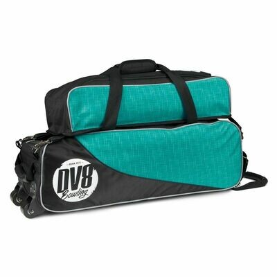 DV8 Circuit Teal 3 Ball Tote With Shoe Bag