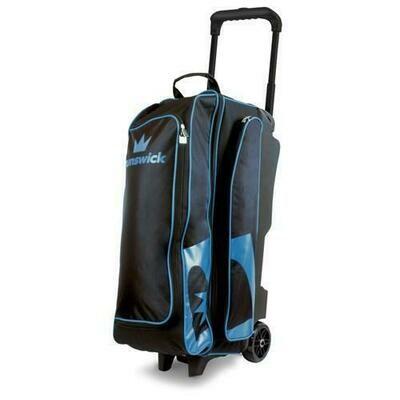Brunswick Blitz 3 Ball Roller Black/Blue Bowling Bag
