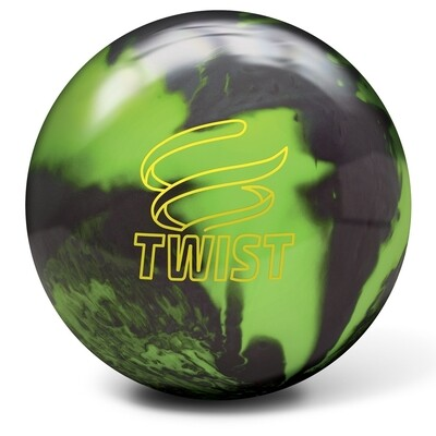 Brunswick Twist Neon Green/Black Bowling Ball