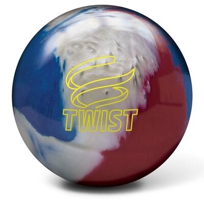 Brunswick Twist Red/White/Blue Bowling Ball