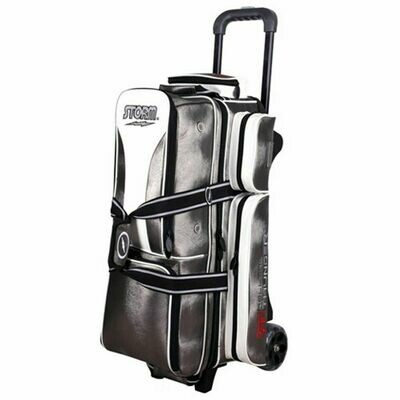 Storm Rolling Thunder Signature Platinum 3 Ball Roller Bowling Bag