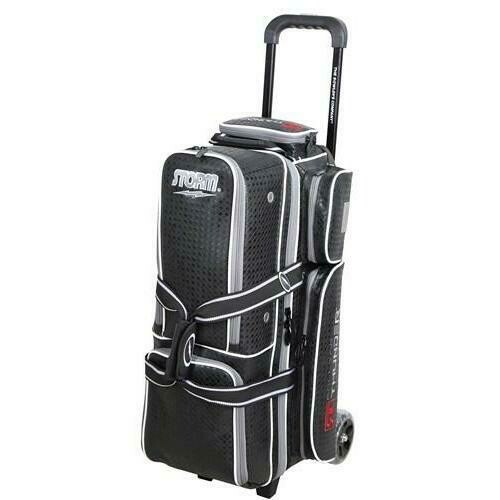 Storm Rolling Thunder Signature Black Diamond 3 Ball Roller Bowling Bag
