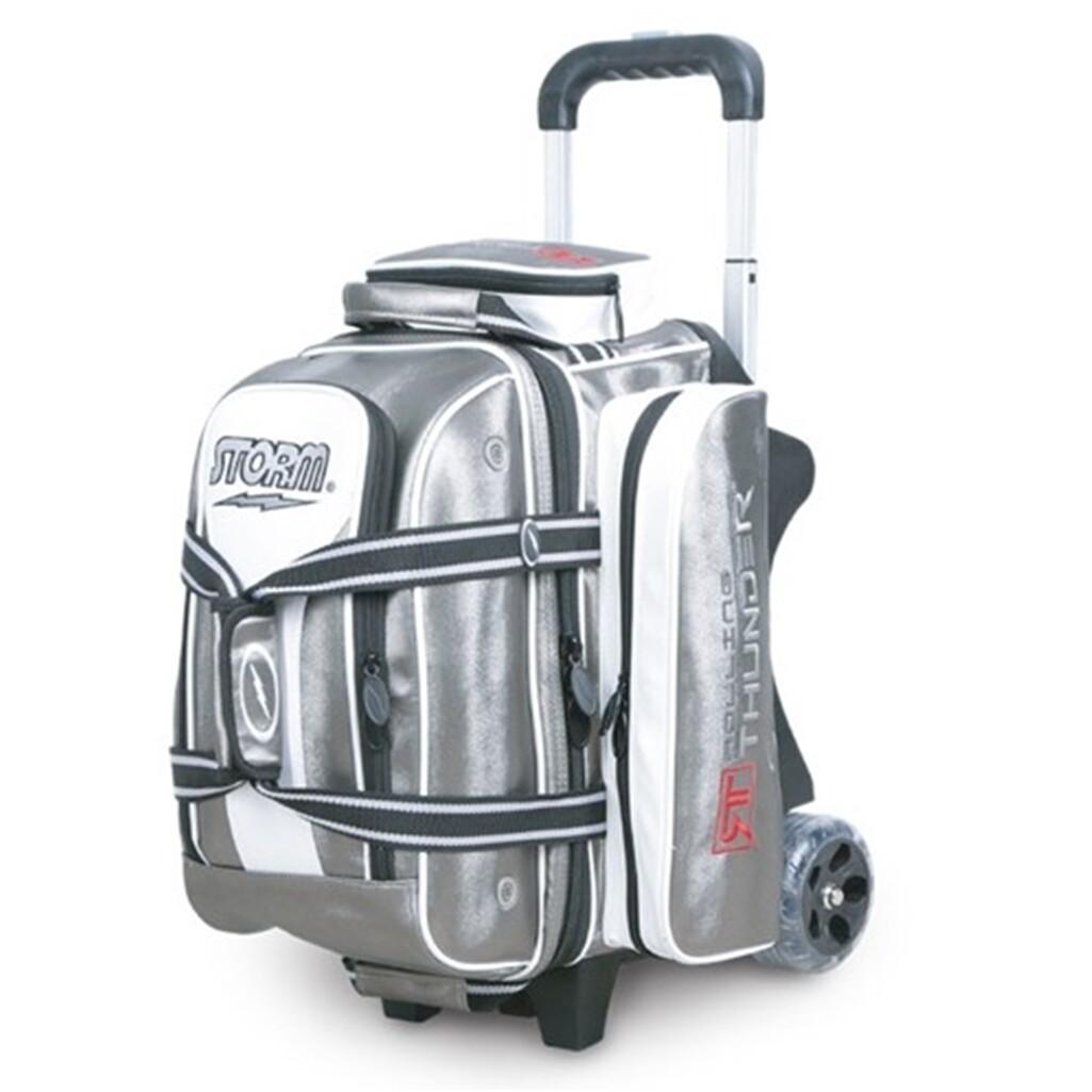 Storm Rolling Thunder Signature Platinum 2 Ball Roller Bowling Bag