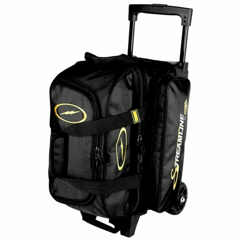 Storm Streamline Black 2 Ball Roller Bowling Bag