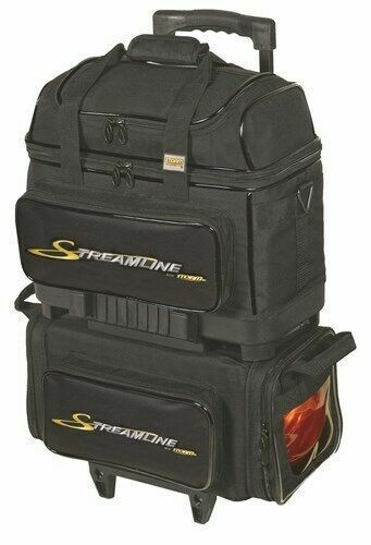 Storm Streamline Black 4 Ball Roller Bowling Bag
