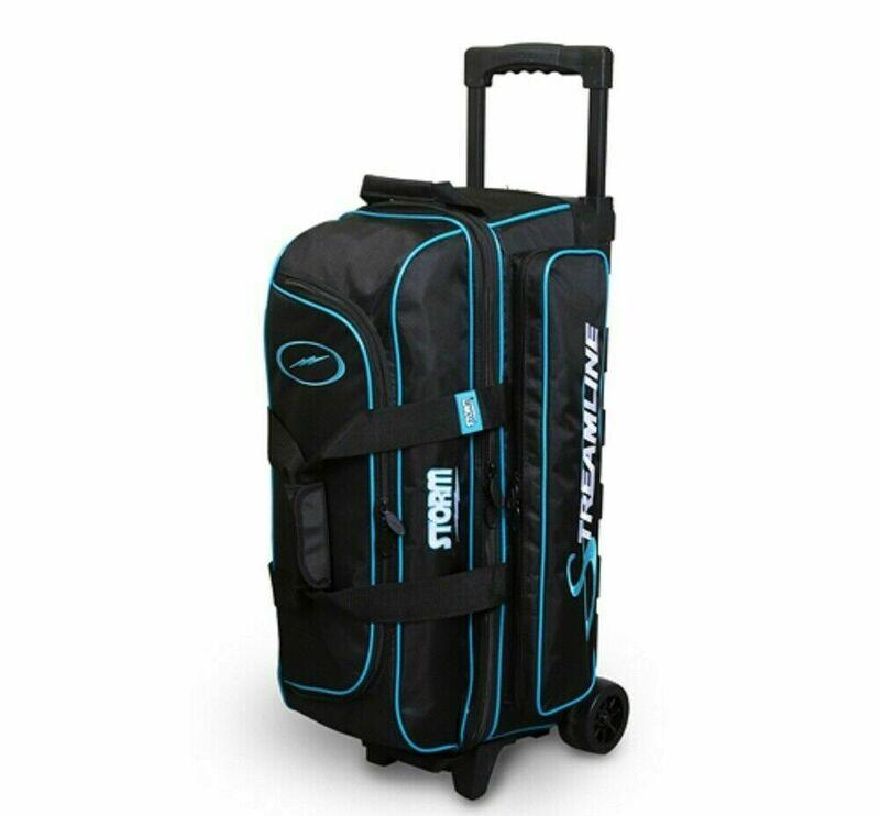 Storm Streamline Black/Blue 3 Ball Roller Bowling Bag