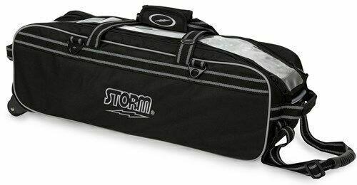 Storm Tournament 3 Ball Tote Black Bowling Bag
