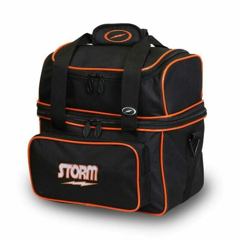 Storm Flip Single Black/Orange Bowling Bag