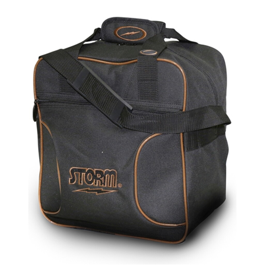 Storm Solo Tote Black/Gold Bowling Bag