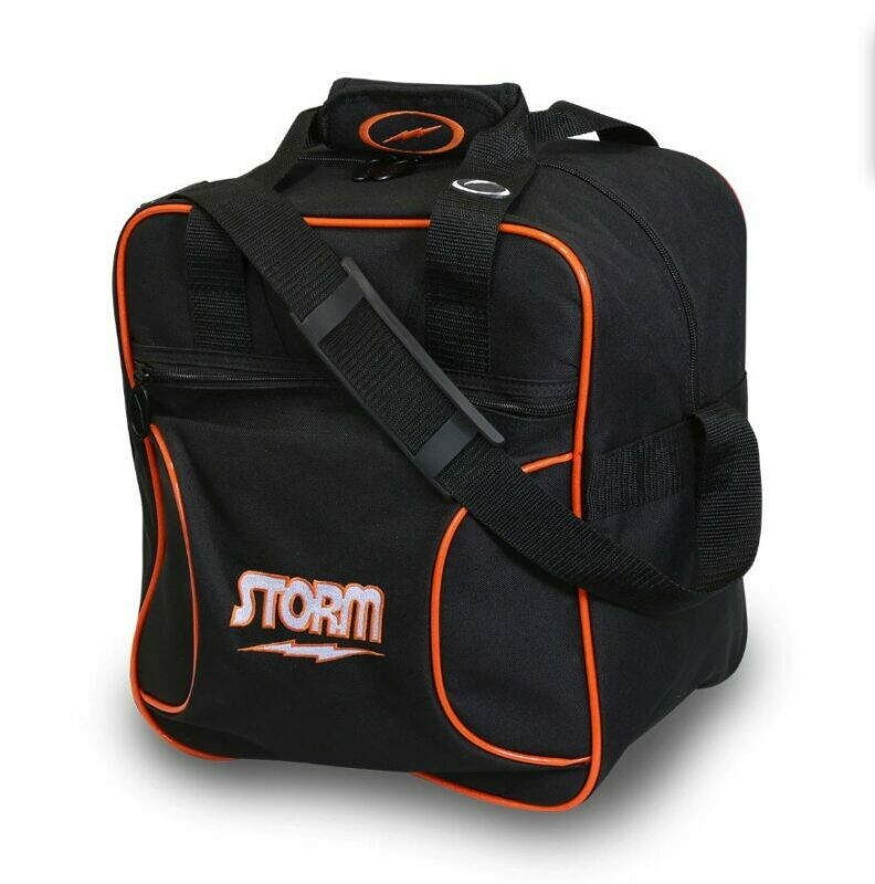 Storm Solo Tote Black/Orange Bowling Bag