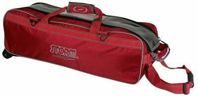 Storm Tournament 3 Ball Tote Red Bowling Bag