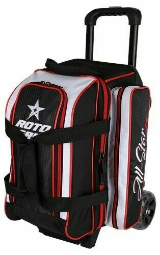 Roto Grip All Star Black/Red 2 Ball Roller Bowling Bag