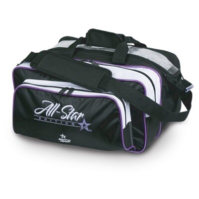 Roto Grip All Star Carry All 2 Ball Tote Black/Purple Bowling Bag