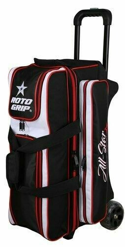 Roto Grip All Star 3 Ball Roller Black/Red Bowling Bag