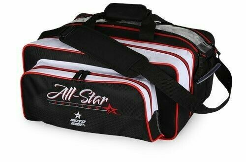 Roto Grip All Star Carry All 2 Ball Tote Black/Red Bowling Bag