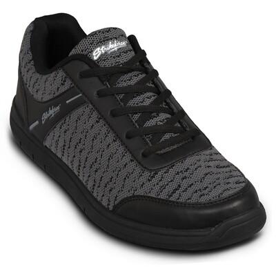 KR Strikeforce Flyer Mesh Black/Steel Mens Bowling Shoes