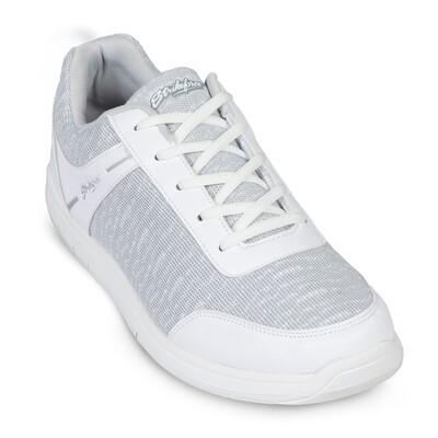 KR Strikeforce Flyer Mesh White/Grey Mens Bowling Shoes