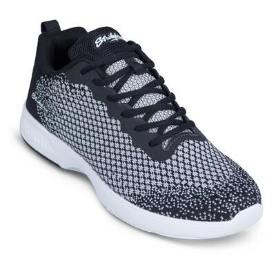 KR Strikeforce Aviator Black/Grey Mens Bowling Shoes