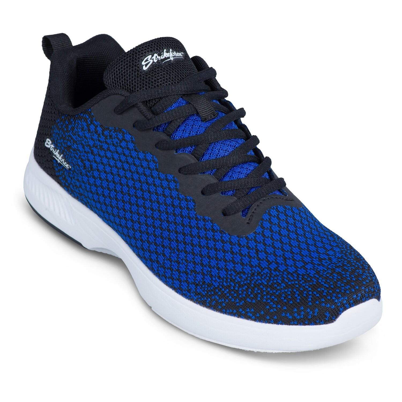 KR Strikeforce Aviator Black/Blue Mens Bowling Shoes