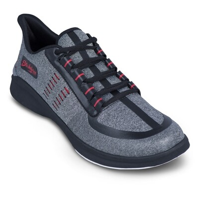 KR Strikeforce Blaze Light Grey/Red Mens Bowling Shoes