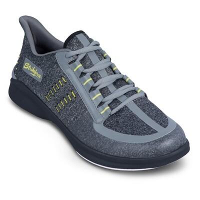 KR Strikeforce Blaze Dark Grey/Yellow Mens Bowling Shoes