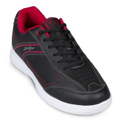 KR Strikeforce Flyer Lite Black/Red Mens Bowling Shoes