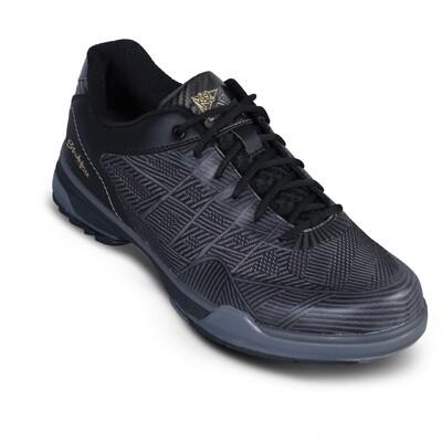KR Strikeforce Rage Gunmetal/Black Right Handed Wide Width Mens Bowling Shoes