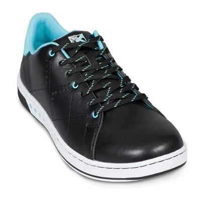 KR Strikeforce Gem Black/Teal Womens Bowling Shoes