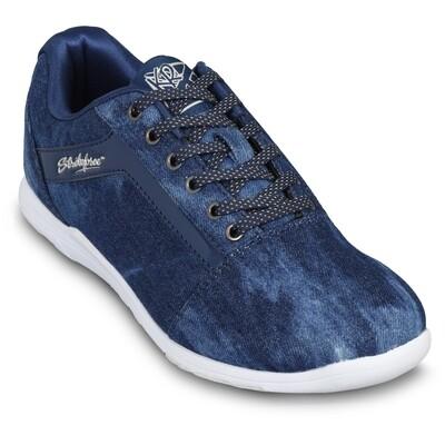 KR Strikeforce Nova Denim Sparkle Womens Bowling Shoes