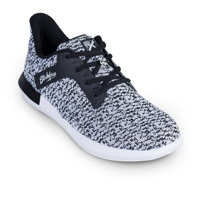 KR Strikeforce Lux White/Black Womens Bowling Shoes