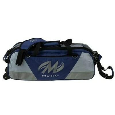 Motiv Ballistix Navy 3 Ball Tote Bowling Bag