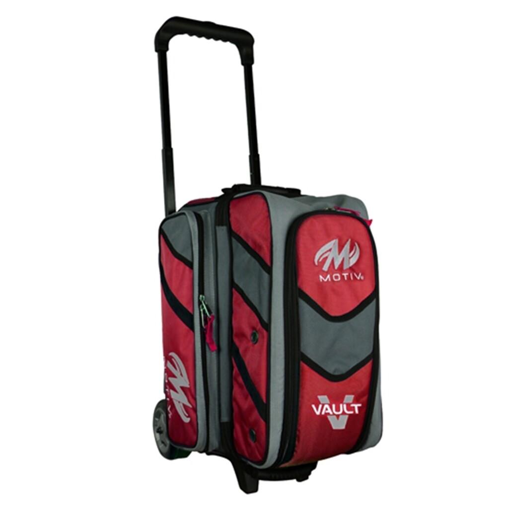 Motiv Vault Red 2 Ball Roller Bowling Bag